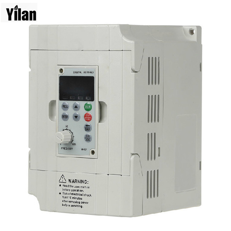 220V 0.75KW VFD CNC Spindle motor speed control 750W Variable Frequency Driver Inverter 1HP or 3HP Input 3HP Output vfd110cp43b 21 delta vfd cp2000 vfd inverter frequency converter 11kw 15hp 3ph ac380 480v 600hz fan and water pump