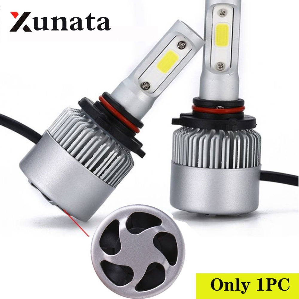 H1 H3 H4 H7 H8 H11 H13 9004 9005 9006 9007 6000K Car Styling Super Bright Auto Bulbs LED Lamp  Automotivo S2 LED Car Headlights