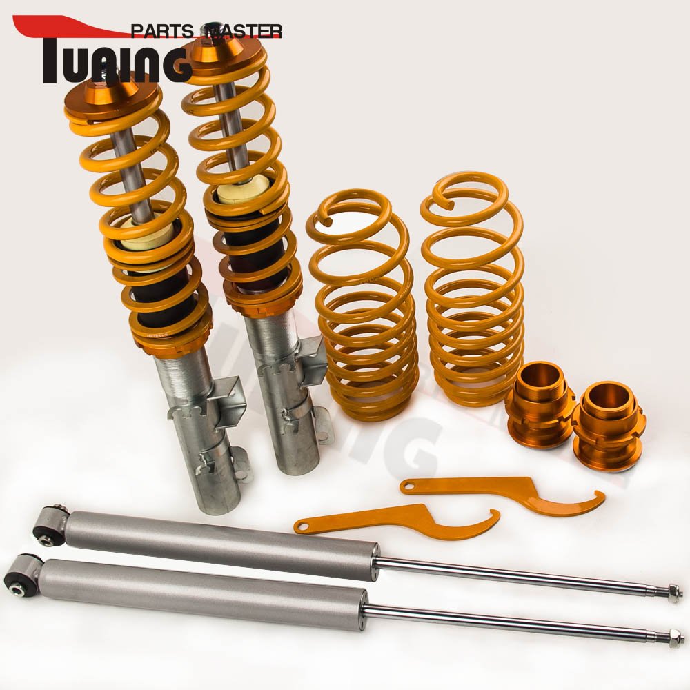 Coilover Suspension for Audi TT Coupe / Roadster 8N 1.8T for Seat Leon 1M1 1998 2006 Coilovers Non adjustable damper force|Shock Absorber& Struts| |  - title=