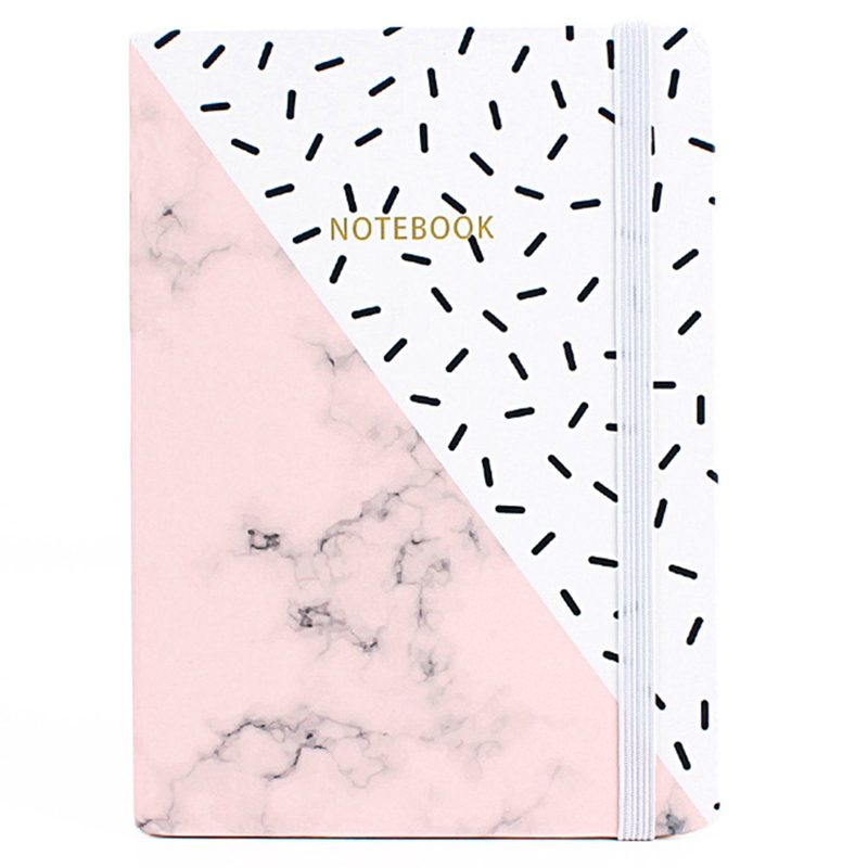 Notebooks & Writing Pads Office & School Supplies Confident 1pcs Cut Marble Animal Designs Soft Cover A4 A5 B5 Notebook Lines Composition Diary Stiching Binding Notebook Style Random