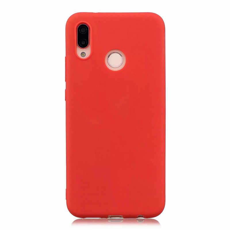 Dulce Macaron funda del teléfono para Huawei Nova 3 3i 2 2S 2i amigo 20 Lite P20 Pro P10 más P9 P8 Lite 2017 P suave de casos de silicona