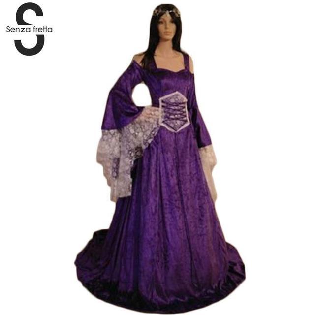 Georgian Victorian Gothic Dress Masquerade Ball Gown Reenactment Theatre Blue Dresses Renaissance Ball Gown Dress SYD0446 1