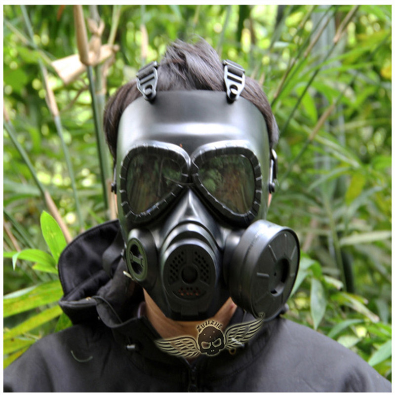 Adults Breathable Military Tactical Mask Airsoft Paintball Full Face Mask Hunting Shooting Game Helmets Party Cosplay Props