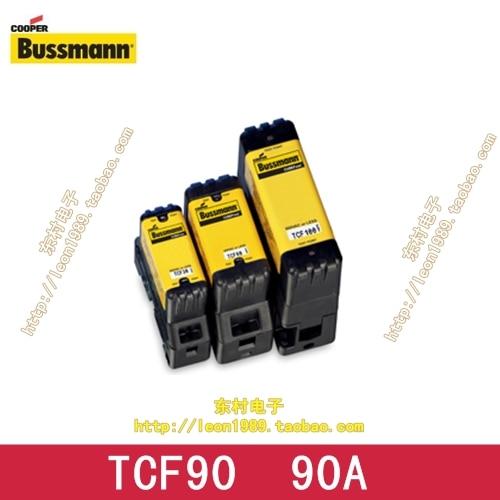 лучшая цена [SA]Eaton EATON Bussmann Fuses TCF90 90A 600V delayed fuse slow