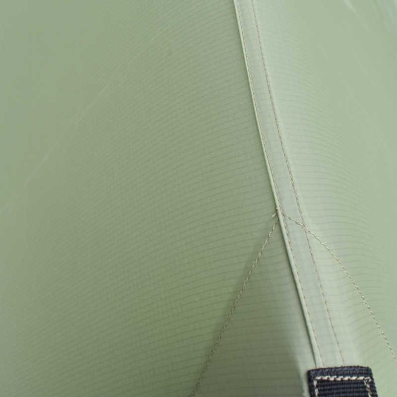 Aricxi 20D Nylon 2 osoby namiot dwustronnie pokryte silikonem ultralekki plaża markizy Oudoor Rainfly namiot
