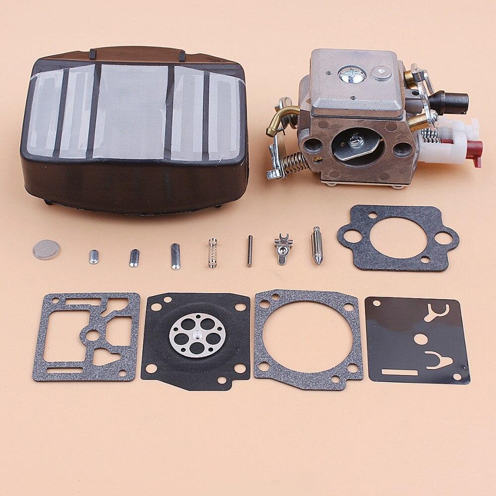 Tools : Carburetor Carb Air Filter Repair Kit For Husqvarna 359 357 357XP Jonsered 2159 Chainsaws Zama C3-EL18B RB-163 Chainsaw Parts