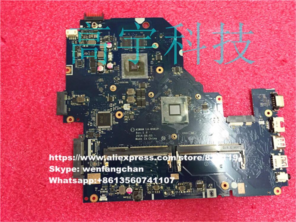 For ACER E5 511G Laptop motherboard NBMQX11005 N2940U A5WAM