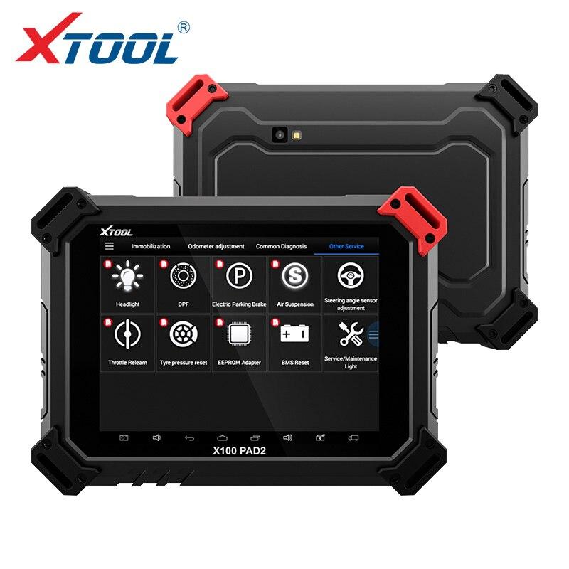 2018 XTOOL X100 PAD2 OBD2 אוטומטי מפתח מתכנת מד מרחק תיקון כלי קוד Reader רכב אבחון כלי עם פונקציה מיוחדת