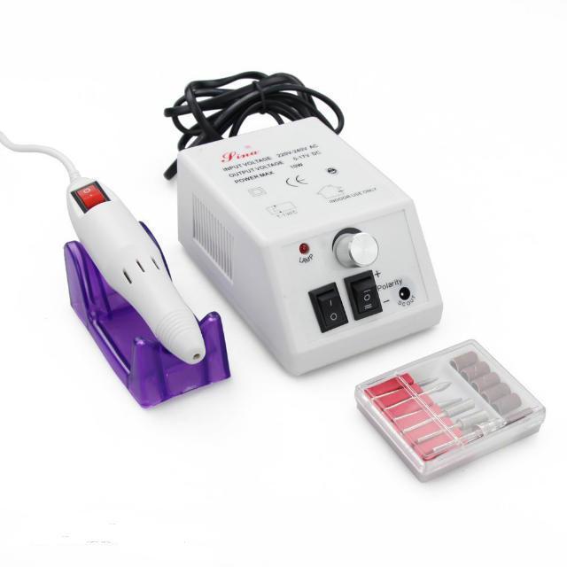 Professional Nail Machine Buffer Bits or Manicure Pedicure Kit Set ...