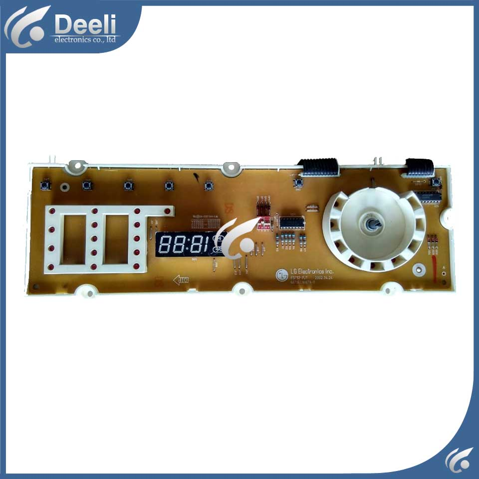 95% new original for WD-6022C 6871EC1059B 6870EC9067A-0 Washing Machine computer board 95% new original tested for washing machine computer board wfc1066cw wfc1067cs wfc857cw wfc1075wc