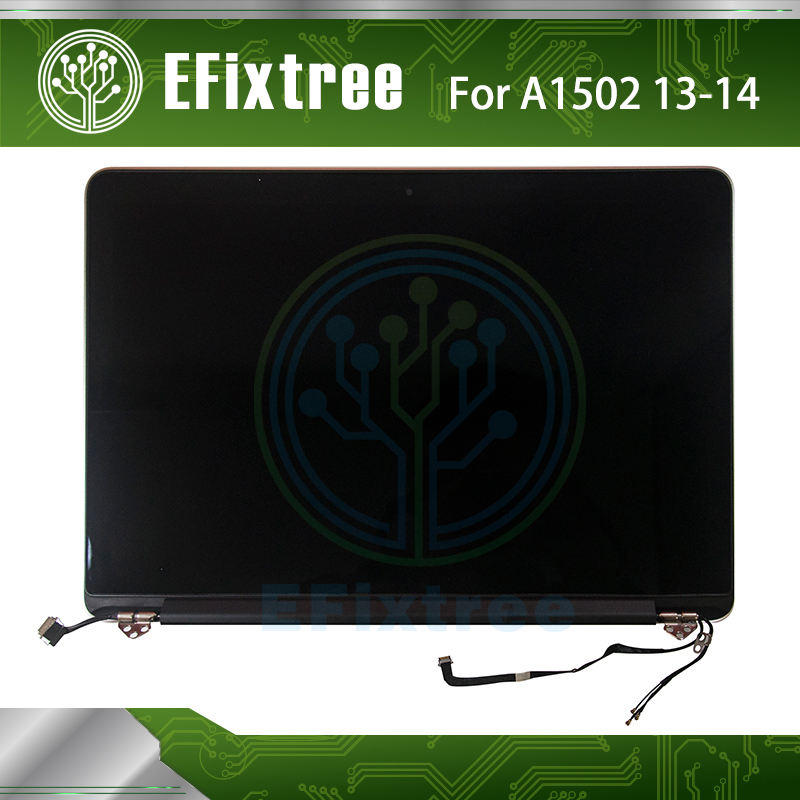 Genuine 2013 2014 Ano Testado A1502 LCD Para Apple Macbook Retina 13 A1502 LED LCD Screen Display Assembléia Completa EMC 2678 EMC 2875