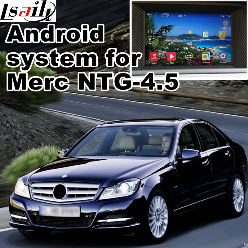 Android 6 0 GPS navigation box for Mercedes benz C class