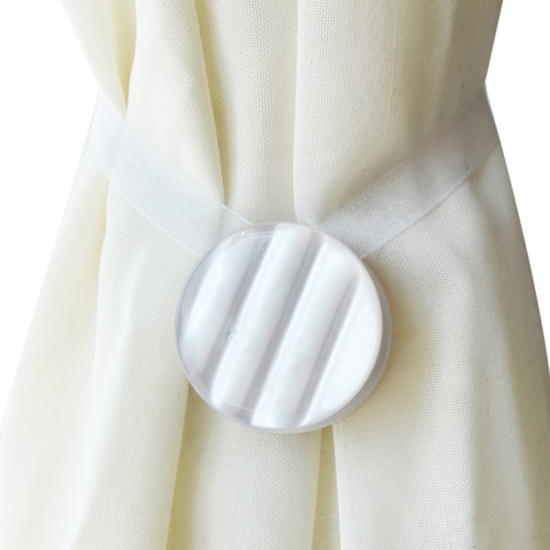 Curtain Tie backs Decorative Accessories Magnetic Curtain Clip Tiebacks Window cloth Buckle Holdbacks Fashion Home Dcor