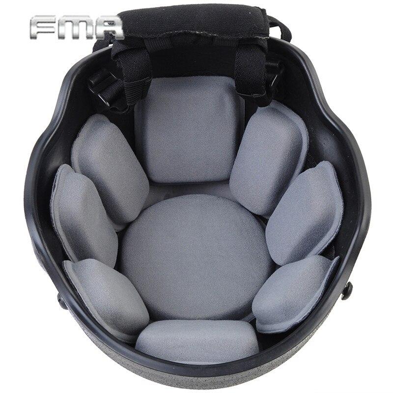 Prix pour FMA Universel Casque Pad Airsoft Tactique Militaire Casque Protecteur Plaquettes Paintball Wargame Coussin Pad Casque Accessoire