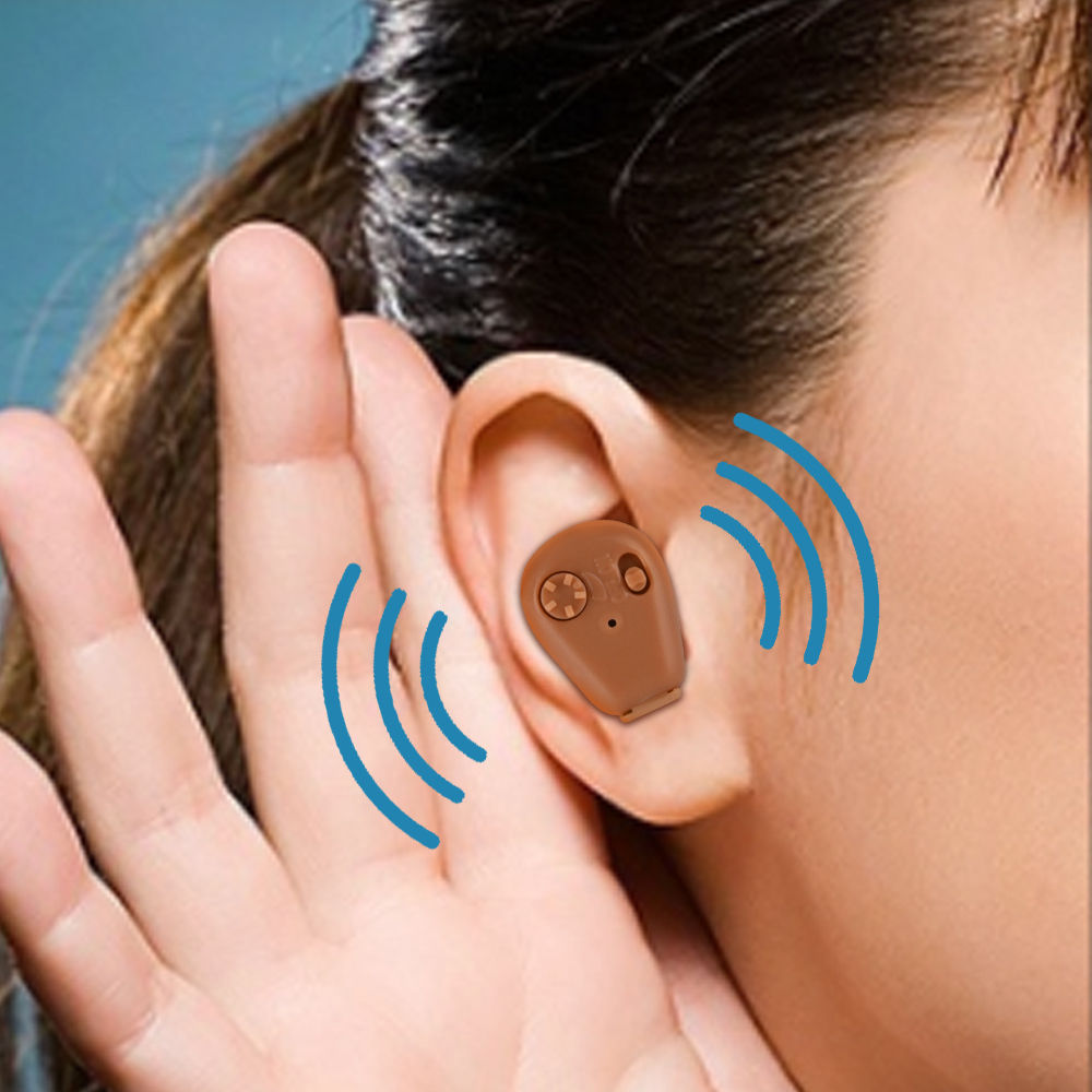 Image 5 - Rechargeable Hearing Aid With Storage Bag Sound Voice Hearing Amplifier Hearing Aids For Elderly Deafness-in Ear Care from Beauty & Health