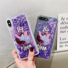 Glitter Dynamic Liquid Case For Samsung A6 A8 Plus 2018 S10 Lite S8 S9 Plus Note 8 9 J3 J5 J7 A3 A5 A7 2017 S7 Edge Quicksand shockproof clear silicone case for samsung galaxy s7 edge a5 a7 j5 j7 2017 s8 s9 s10 plus note 9 8 a6 a8 plus a7 2018 a50 cover