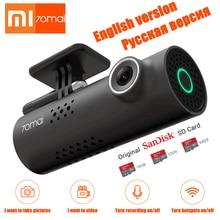 Smart сенсор голос управление Xiaomi 70mai Автомобильный dvr камера 1080 P HD ночное видение регистраторы Wi Fi SONY IMX323 изображения вождения регистраторы