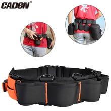 CADeN поясной ремень для камеры регулируемый ремень для объектива черный+ оранжевый чехол для камеры ремень для штатива