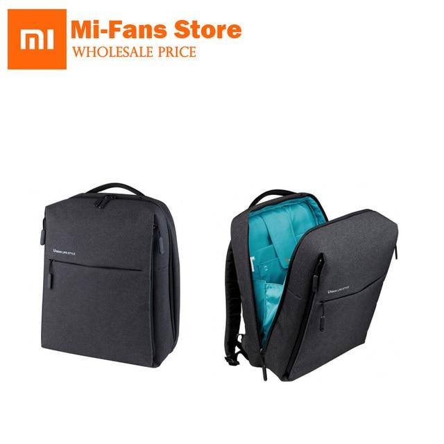 af40ecd3ac24 Original Xiaomi Women Men Backpacks School Backpack Large Capacity Student  Bag Men Women Travel School Office
