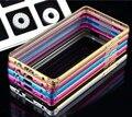 Высокое Качество Алюминиевого Сплава Металлический Каркас Настройки Бампер Case для Samsung Galaxy S7 S7edge 2016 A3 A5 A7 E7 G7200