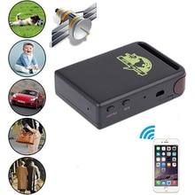 Nueva Moda Mini Vehículo GSM GPRS GPS Tracker o de Seguimiento de Vehículos Localizador Dispositivo TK102B