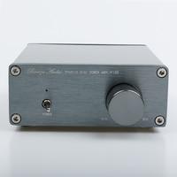 Breeze Audio TPA3116 2.0 HiFi Audio Stereo Digital Power Amplifier Advanced 2*50W Mini Home Aluminum Enclosure amp DC12 24V