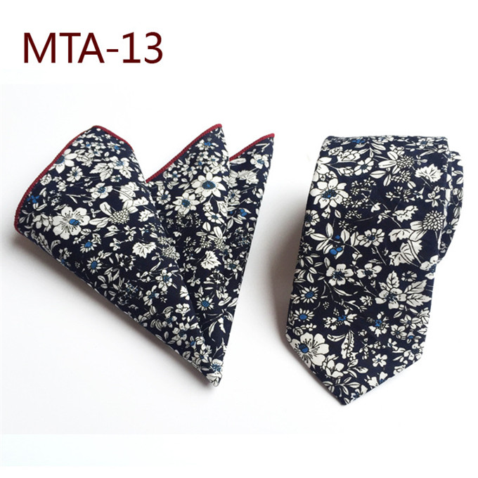 Men's Ties & Handkerchiefs Cityraider Brand 6cm Skinny Ties For Men Cotton Ties Slim Wedding Necktie Mens Neckties With Match Handkerchief 2pcs Set Ld096