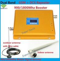 High Gain Dual Band 2G Dcs 1800 Signal Booster KIT GSM 900 Dcs 1800 Signal Repeater