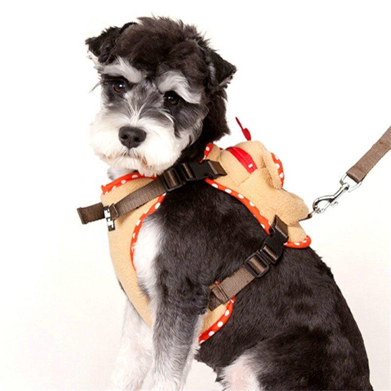 2017 New Design Fashion Styles Elk Shape Dog Harness and Leash Set