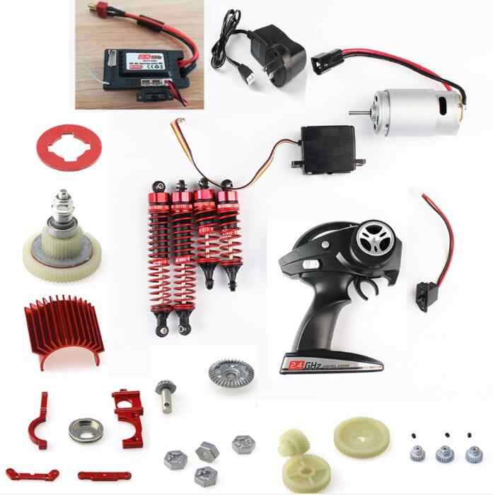 JJR/C JJRC Q39 Q40 1/12 piezas de repuesto de coche teledirigido Motor/eléctrico/engranaje de transmisión/Control remoto/tablero de recepción/Servo/choque/amortiguadores