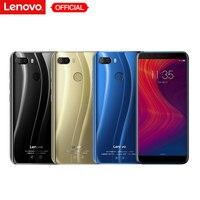 Lenovo K5 играть L38011 3 ГБ 32 ГБ Face ID 4G мобильный телефон 5,7 ''Snapdragon MSM8937 Восьмиядерный сзади Камера 13MP + 2MP Фронтальная камера 8MP