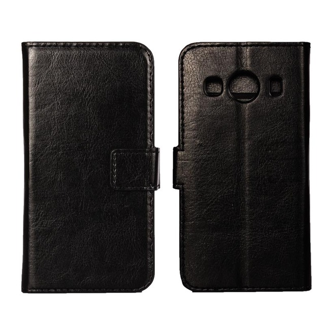 G357FZ Flip Wallet Leather Case For Cover Samsung Galaxy Ace 4 SM-G357FZ Ace4 SM G357FZ G357 Phone Back Case With Card Slots
