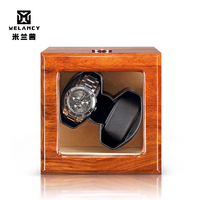 Luxury wooden watch box china supplier diplomat automatic mabuchi motor watch winder