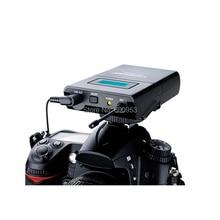 цена SGC-100W Wireless Lavalier Lapel Microphone System for Canon Nikon Sony DSLR Camera Camcorders Audio Recorder онлайн в 2017 году