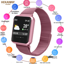 Fitness Bracelet P68 Smart Watch IP68 Waterproof For Apple Xiaomi ios Android With Heart Rate Monitor Band PK  B57