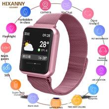купить Fitness Bracelet P68 Smart Watch IP68 Waterproof For Apple Watch Xiaomi ios Android With Heart Rate Monitor Smart Band PK  B57 дешево