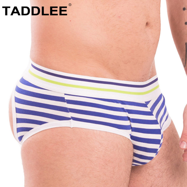 a3093c8dce6f Taddlee Brand Sexy Men's Jockstraps Underwear Jocks Boxer Briefs Bikini  Strip Backless Buttocks Sheer Mesh Jock Straps Gay penis