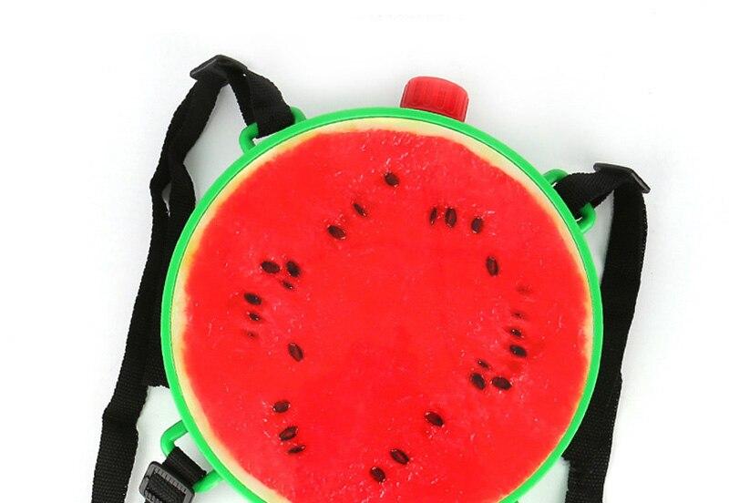 1pcs Creative Fruits Water Gun Toy Outdoor Games Summer Kids Beach Kiwi Lemon Backpack Water Guns Spray Toy Manual Pressure Toy (6)