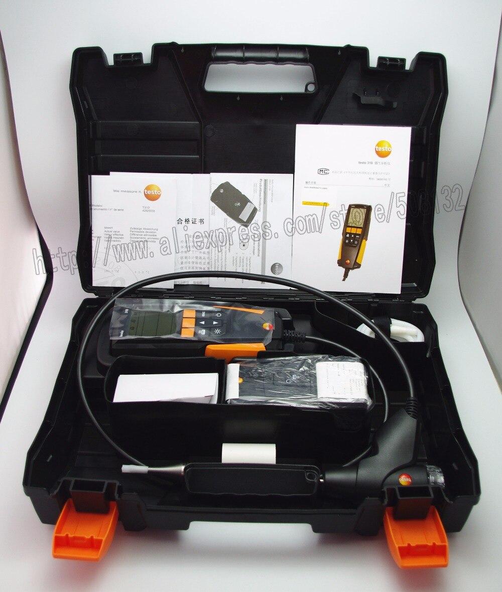 testo 0563 3110 Residential combustion analyzer kit with printer
