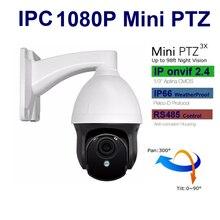 CCTV IP Camera PTZ 1080P 960P Network Camera mini Pan tilt 3X zoom security surevillance system 2.8-8mm