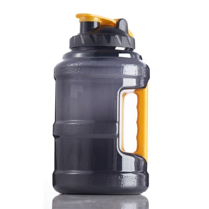 2,5л большая емкость, легкий BPA бесплатно, пластиковая Спортивная бутылка для воды для занятий спортом на открытом воздухе, для кемпинга, гидр...