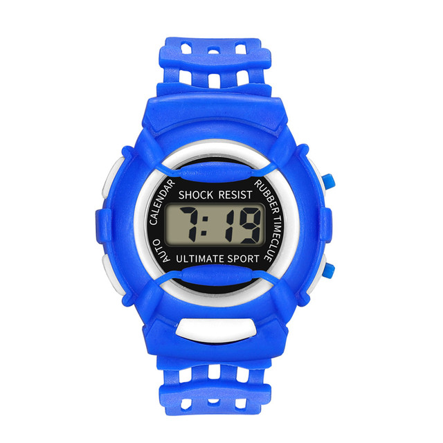 Sport Children Girls Boys Analog Digital LED Watches Electronic Waterproof Wrist