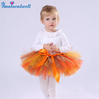 Bnaturalwell Baby Halloween Tutu Skirt Baby Girls Bloomers Tutu Bloomers Holiday Outfit Photo Shoot Outfit Shower