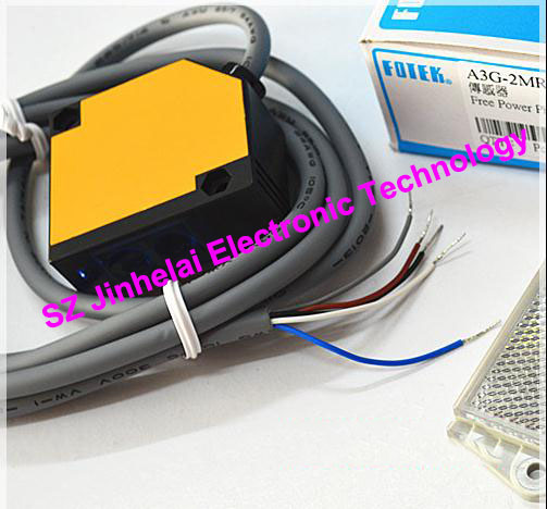 100% New and original FOTEK Photoelectric switch A3G-2MR  Free Power Photo Sensor 100% new and original fotek photoelectric switch mr 60x npn output