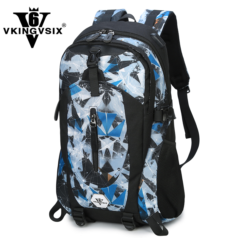 VKINGVSIX Brand Oxford Backpack for 15.6 inches laptop backpack External USB Charge 4 color mochila men backpack 2017 school bag fashional brand external usb charge anti theft backpack oxford bag for women 15 6inch waterproof laptop backpack with rain cover