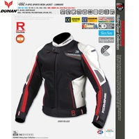 Free Shipping 1pcs NEW Motorcycle Breathable Mesh Clothing Race Suit Racing Jacket Removable Motorcycle Jakcet With