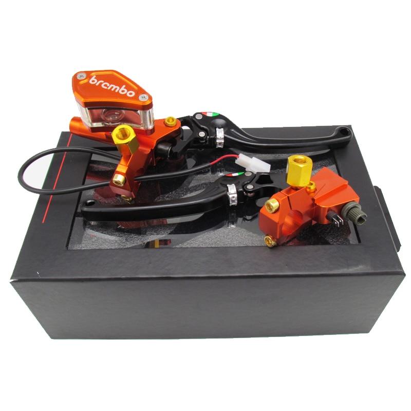 Электрический мотоцикл изменен на насос/CNC алюминиевый сплав тормоза на общей модели насосов/