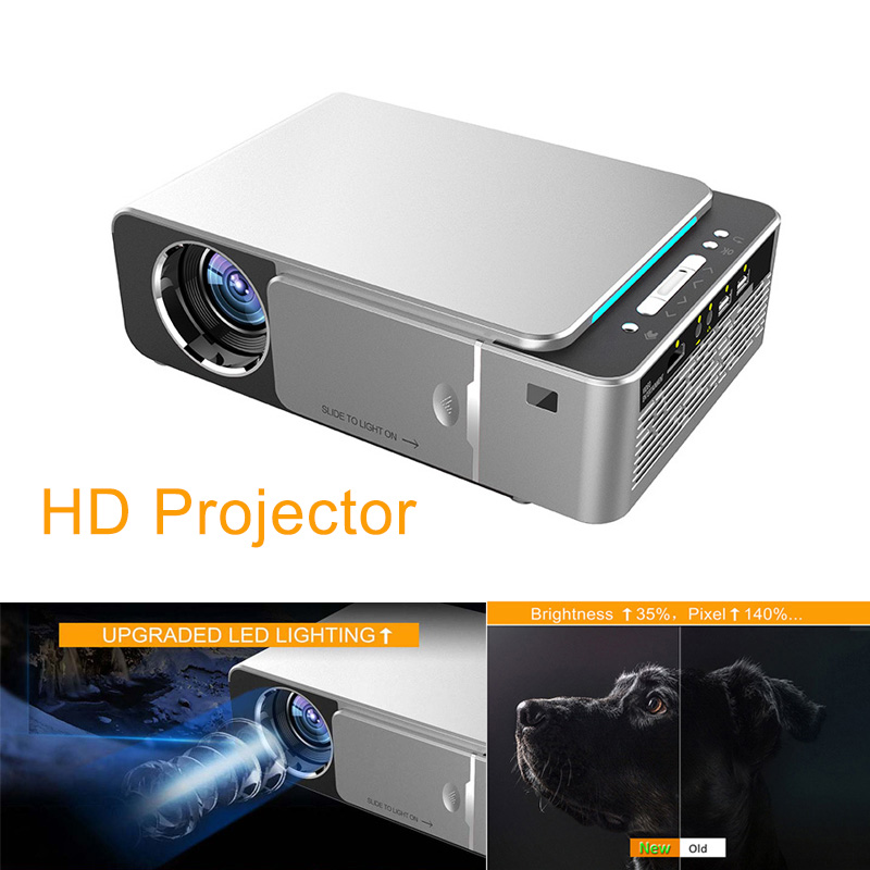 LED HD Projector HDMI USB 1080P Bluetooth WIFI Beamer Home Theater Projector LCC77LED HD Projector HDMI USB 1080P Bluetooth WIFI Beamer Home Theater Projector LCC77