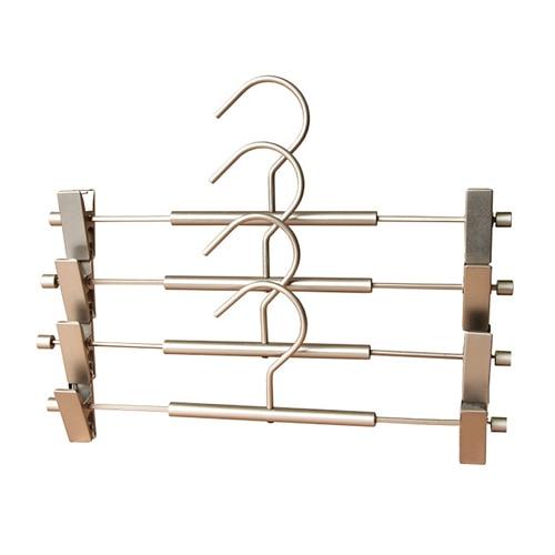 10 pieces/lot) Metal wire hangers, Pants hanger, Trouser hanger ...