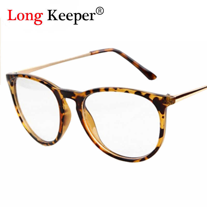 2de0a8a16ff Classic Fashion Star Style Glasses frame women men eyeglasses clear lens  glass brand design optical Gafas